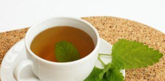Chá de Erva Cidreira