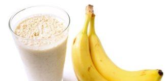 Suco de Banana com Linhaça