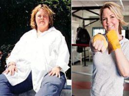 Jessica Whitehead emagrecer 90 kg