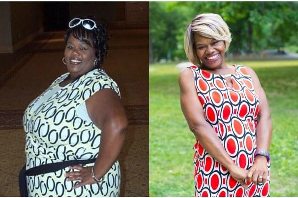 Chasity Davis emagreceu 77,5 kg